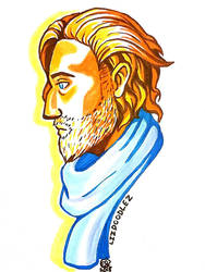 Critical Role: Caleb bust by LizDoodlez