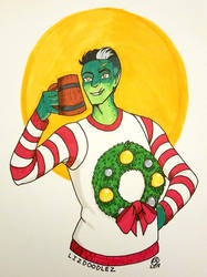 Critical Role: Ugly Sweater Fjord by LizDoodlez