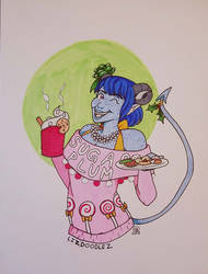 Critical Role: Ugly Sweater Jester by LizDoodlez