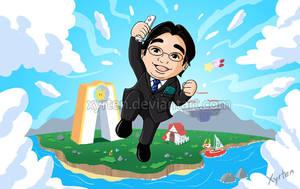 Day 238 - Satoru Iwata by Xyrten