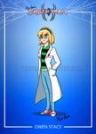 Day 257 - Spider-Man cartoon concept: Gwen Stacy by Xyrten