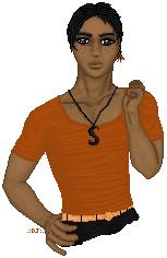 Doll - Orange and Black by djsoblivion1990