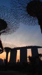 Marina Bay Sands by kate-takako