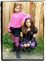 Punky Girls by WinterRose31