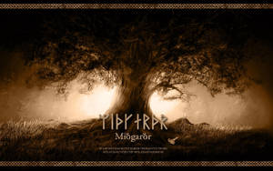 Midgard - Yggdrasil - Wallpaper by PlaysWithWolves