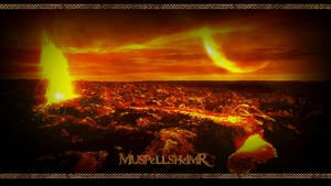 Muspelheim - Wallpaper by PlaysWithWolves