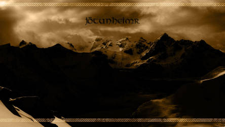 Jotunheimr - Wallpaper by PlaysWithWolves