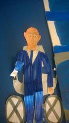 Patrick Stewart as Professor Charles Xavier by movieman410