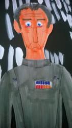 Peter Cushing as Grand Moff Tarkin by movieman410
