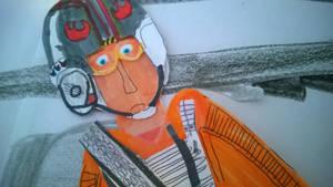Mark Hamill as Luke Skywalker by movieman410