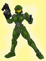 Female Spartan - Halo by CycKath