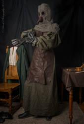 Plague Doctor by paul-rosenkavalier