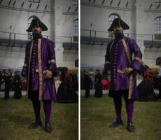 Purple Frock Coat and Waistcoat by paul-rosenkavalier
