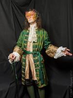 'Green Man' Frock Coat and Waistcoat by paul-rosenkavalier