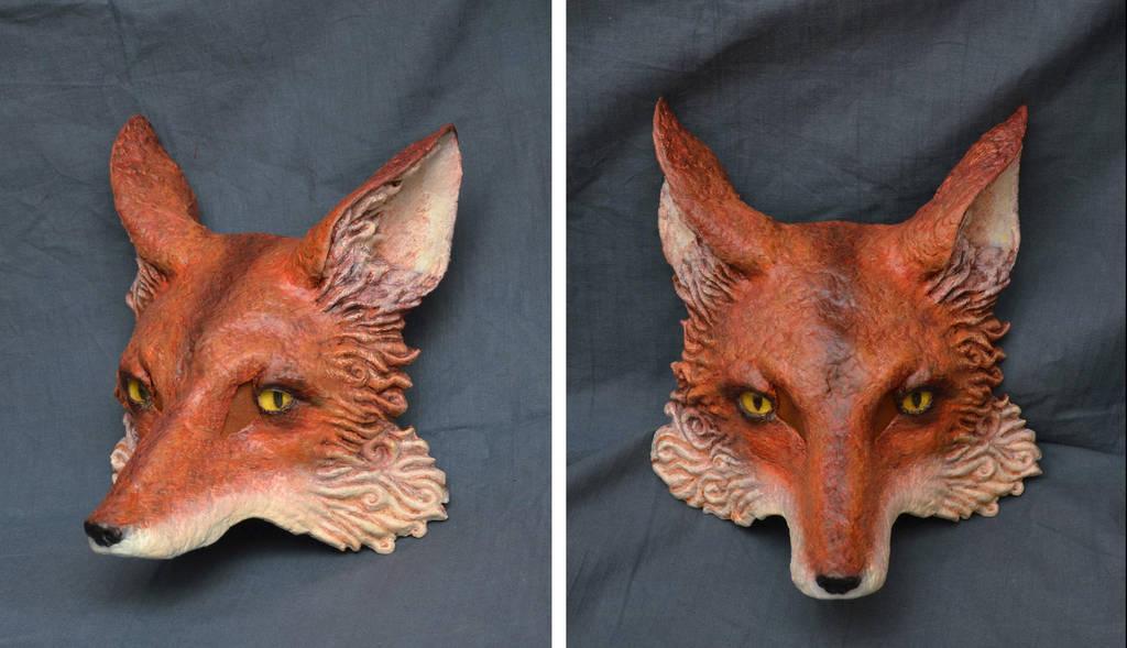 Fox Mask by paul-rosenkavalier