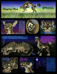 PAINTED Chapter One Page One by Eviecats