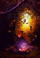 October's Magic by emilieleger