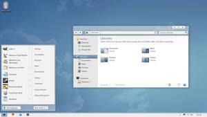 Wave for Windows 7 Preview by Seahorsepip