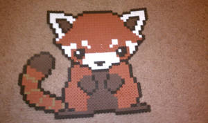 Red Panda bead sprite by Parsonians