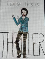 'cause this is THRILLER - zombie edition by ramond997