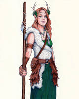 Keyleth (Color) by lynnet