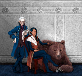 Percy, Vex and Trinket by lynnet
