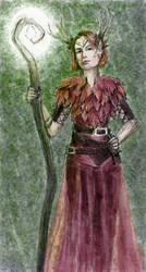 Keyleth with Short Hair by lynnet