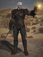 Soulcalibur VI - Geralt of Rivia by BurningEnchanter