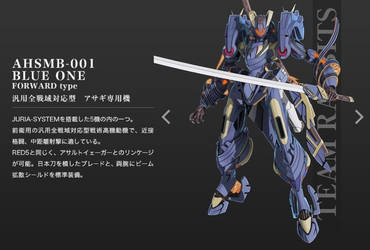 AHSMB-001 Blue One Troopers by SolGravionMegazord