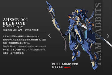 AHSMB-001 Blue One Troopers 2 by SolGravionMegazord