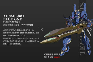 AHSMB-001 Blue One 3 Troopers by SolGravionMegazord