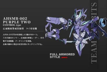 AHSMB-002 Purple Two Troopers 2 by SolGravionMegazord