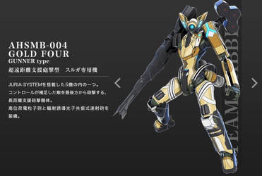AHSMB-004 Gold Four Troopers by SolGravionMegazord
