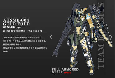 AHSMB-004 Gold Four Troopers 2 by SolGravionMegazord