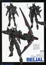 Plan-1055 Belial Mass Produced Arm Slave by SolGravionMegazord