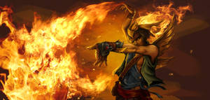 Pyromancer by cirrusapple