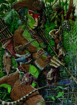 dromaeosauroid by Psithyrus