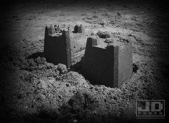 Mighty Sand Castle by bitstormer