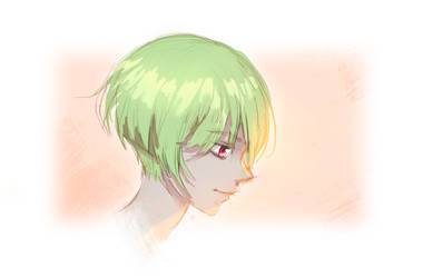 head sketch by KuroRime