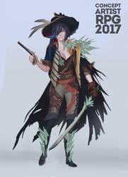 pirat by KuroRime