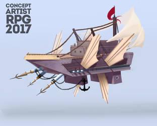 ship by KuroRime