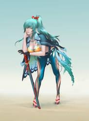 girl by KuroRime