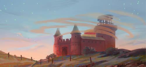 castle by KuroRime