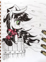 Inktober 2017 [Day 23] - Apple Season's Over by Helmie-D