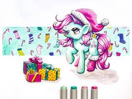 Christmas Minty DA by Helmie-D