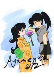 Rin and Kohaku by Ayamegusa