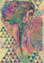 my mind craves nectar by flowwwer