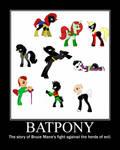 Batpony by CatrionaMalfoy