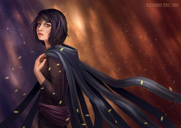 Vin - Mistborn by Anhyra