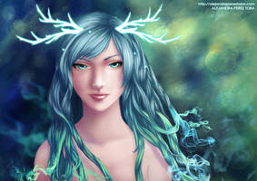 Dreams of the forest by Anhyra